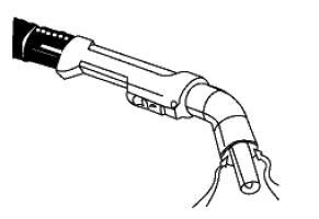 Pistolet à captation intégrée