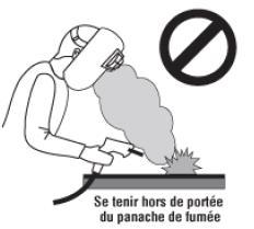 Poste de soudage non ventilé